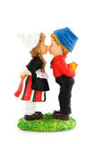 Typical Dutch couple Stock Image