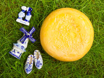 Typical dutch delft blue ceramic Stock Photo