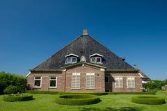 Typical Dutch farmhouse Stock Photography