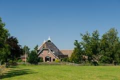 Typical Dutch farmhouse Stock Images