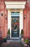 Typical Dutch front door Stock Photos