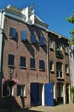 Typical dutch house. In utrecht in holland Stock Photos