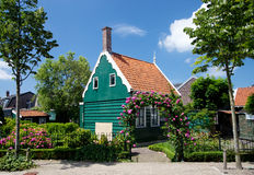 Typical dutch house in Zaanse Shans Royalty Free Stock Photography