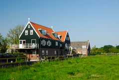 Typical dutch houses i Royalty Free Stock Image