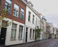 Typical Dutch houses in Utrecht Stock Image