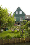 Typical Dutch houses in village Marken Stock Photography