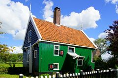 Typical Dutch houses. Zaandam, Holland Stock Image