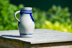 Typical Dutch jar Stock Image