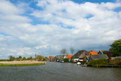 Typical dutch landscape Stock Images