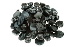 Typical dutch liquorice candy Stock Photo