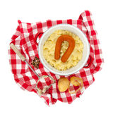 Typical Dutch meal Royalty Free Stock Photography