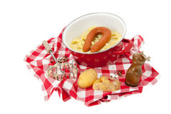 Typical Dutch meal Royalty Free Stock Image