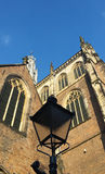 Typical dutch old church Royalty Free Stock Photography