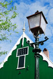 Typical Dutch old light pole Royalty Free Stock Image