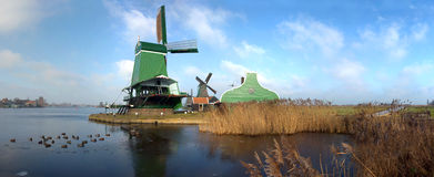 Typical Dutch Saw Mill royalty free stock image
