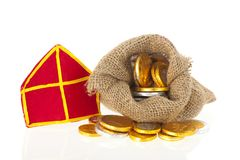 Typical Dutch Sinterklaas candy Royalty Free Stock Photography