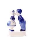 Typical dutch souvenir. Typical dutch delft blue ceramic Stock Photos
