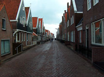 Typical Dutch street Stock Photo