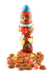 Typical Dutch sweets for Sinterklaas Stock Photos