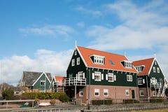 Typical Dutch village Stock Image