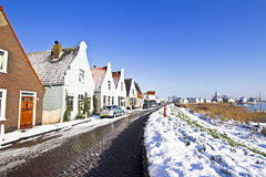 Typical dutch village Durgerdam  in the Netherlands Stock Photography