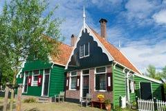 Typical Dutch village Royalty Free Stock Photo