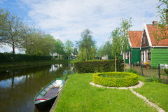 Typical Dutch village Stock Image