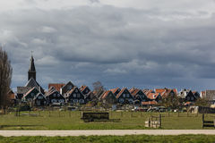 Typical Dutch village Marken, The Netherlands Stock Photography