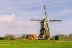 Typical Dutch windmill Stock Images