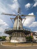 Typical Dutch windmill Royalty Free Stock Images