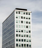Typical East Berlin condo architecture. Typical East Berlin block condo office architecture Germany Stock Images