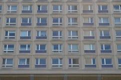 Typical east german plattenbau buildings in berlin Royalty Free Stock Photos