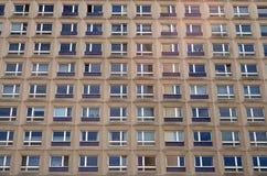 Typical east german plattenbau buildings in berlin Stock Photos