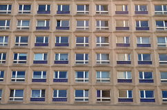 Typical east german plattenbau buildings in berlin Stock Photography