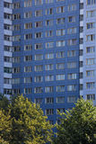 Typical east german plattenbau buildings in berlin Royalty Free Stock Photography
