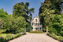 Typical eighteenth-century Venetian villa surrounded by an Itali Royalty Free Stock Photography