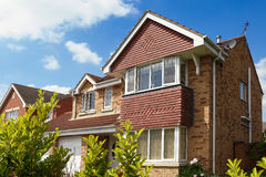 A typical english architecture Stock Image