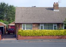 Typical English Bungalow Royalty Free Stock Image