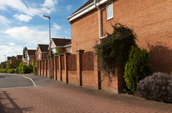 Typical english houses Royalty Free Stock Image