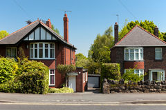 Typical english Houses Stock Photography