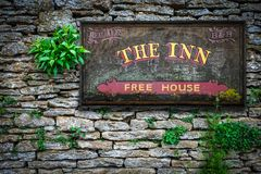 Typical English Inn And Pub royalty free stock images