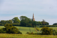 Typical english landscape Stock Image