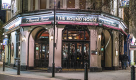 Typical English pub at Covent Garden district - London England  UK Royalty Free Stock Images