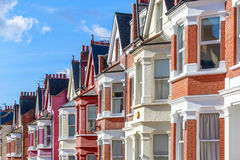 Free Typical English Terraced Houses In West Hampstead, London Stock Photos - 94084573