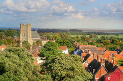 Typical English town Royalty Free Stock Photography
