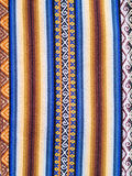 Typical Ethiopian hand-woven colorful fabric Royalty Free Stock Images