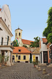 Typical European Alley in Szentendre Hungary Stock Photography