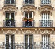 Typical facade Stock Photo