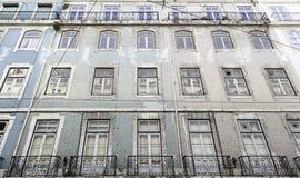 Typical facade tile in Lisbon Royalty Free Stock Photo