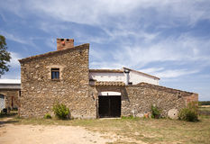 Typical farm in Catalunya Royalty Free Stock Photo